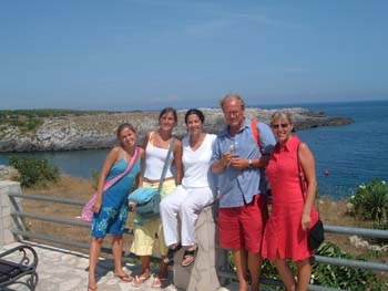 Learn italian language in Otranto